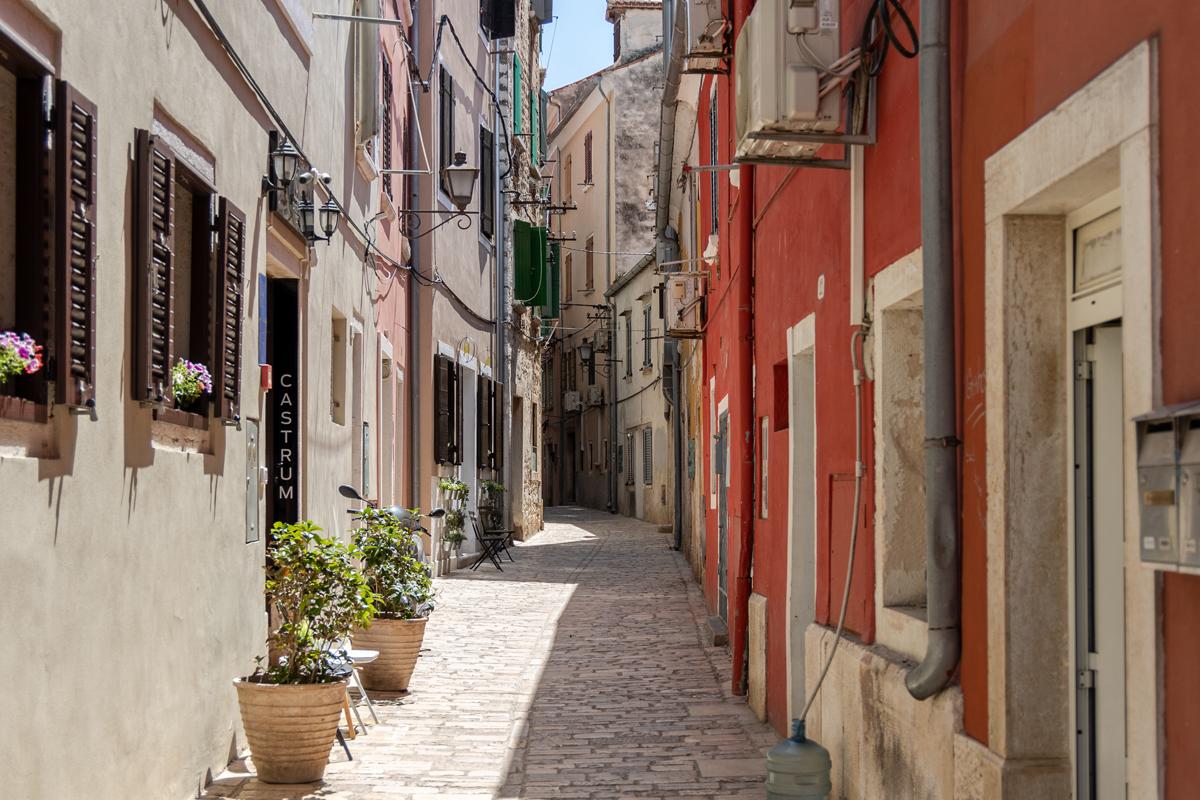 Eine typische Straße
