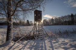 An einem kalten Wintermorgen