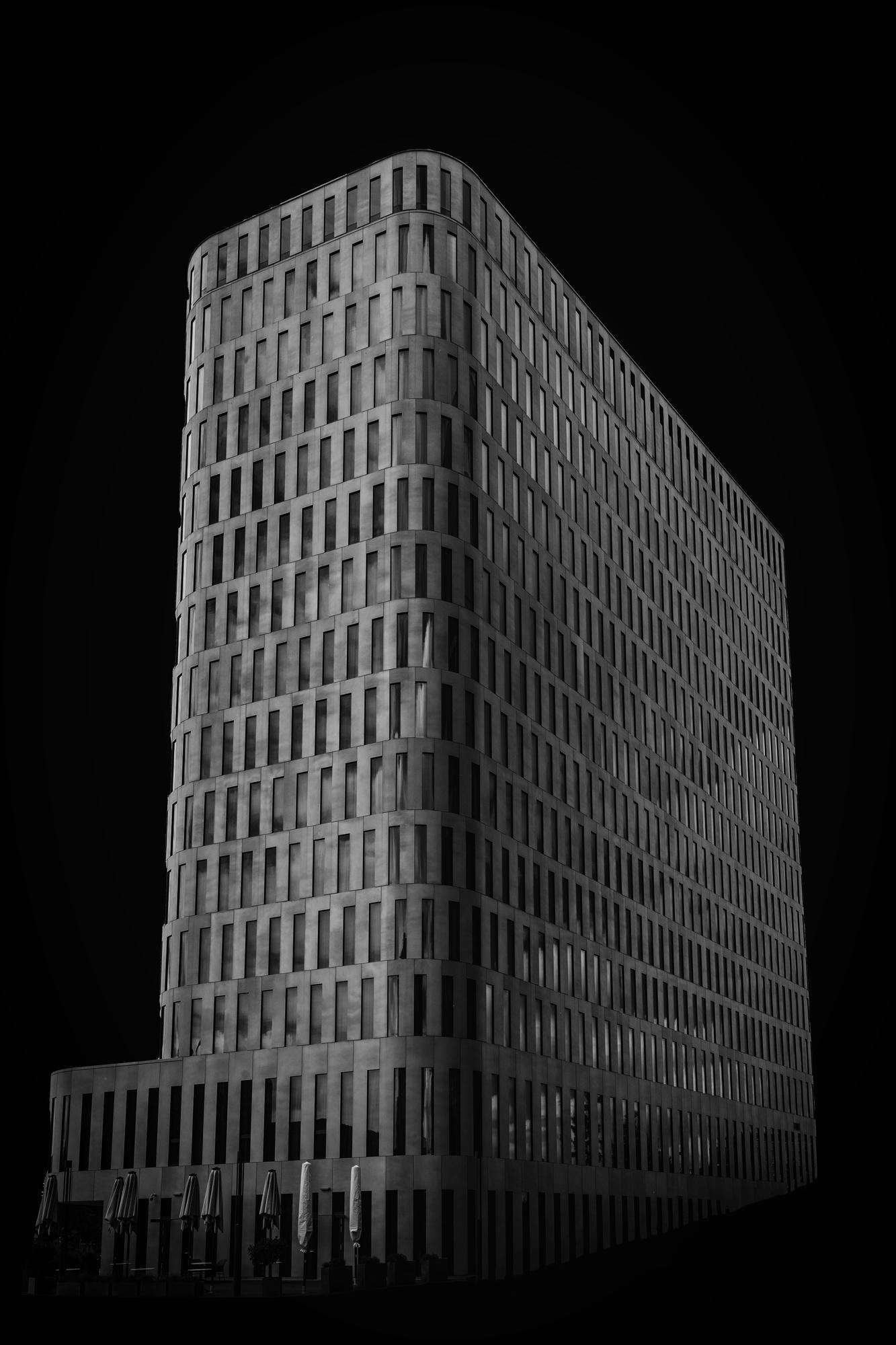 Einer der Bavaria-Towers
