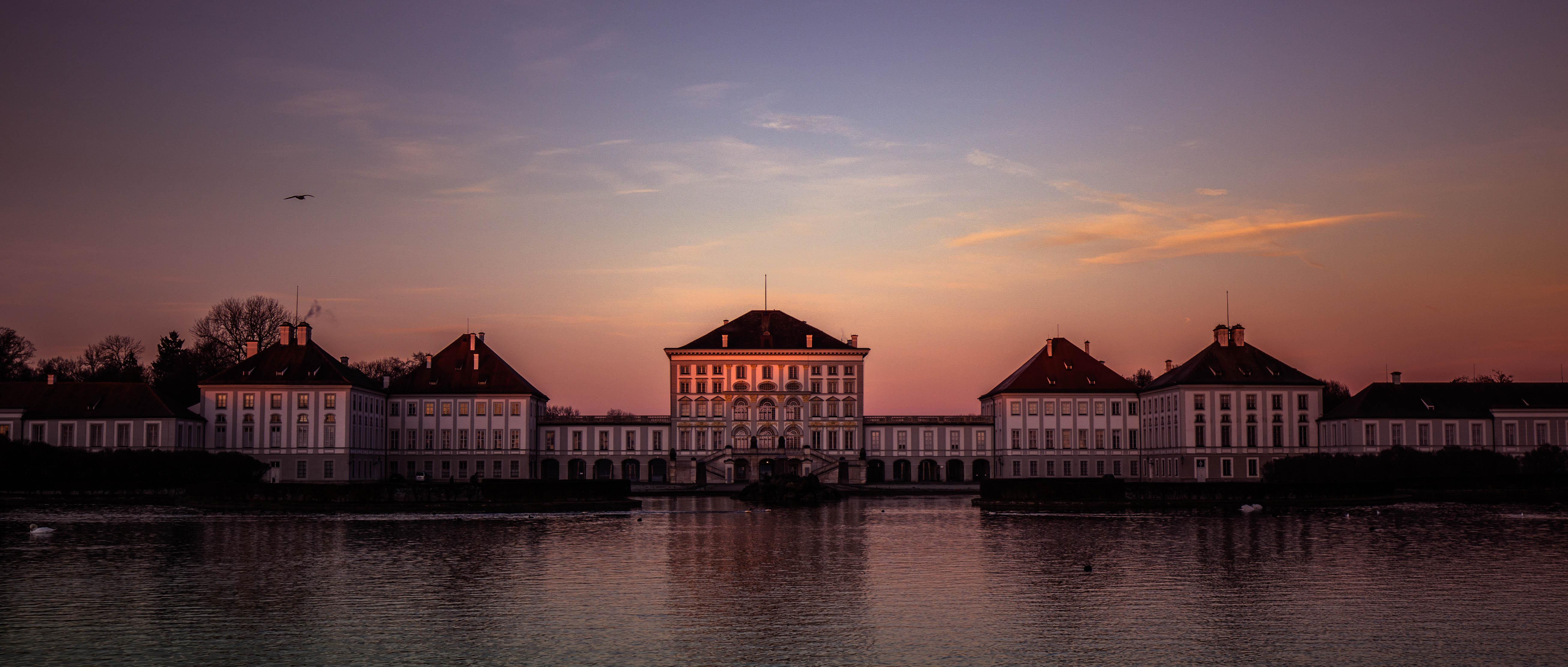 Morgenlicht am Schloss