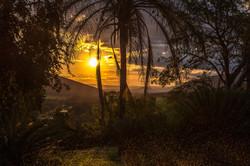 Sonnenuntergang bei Pongola