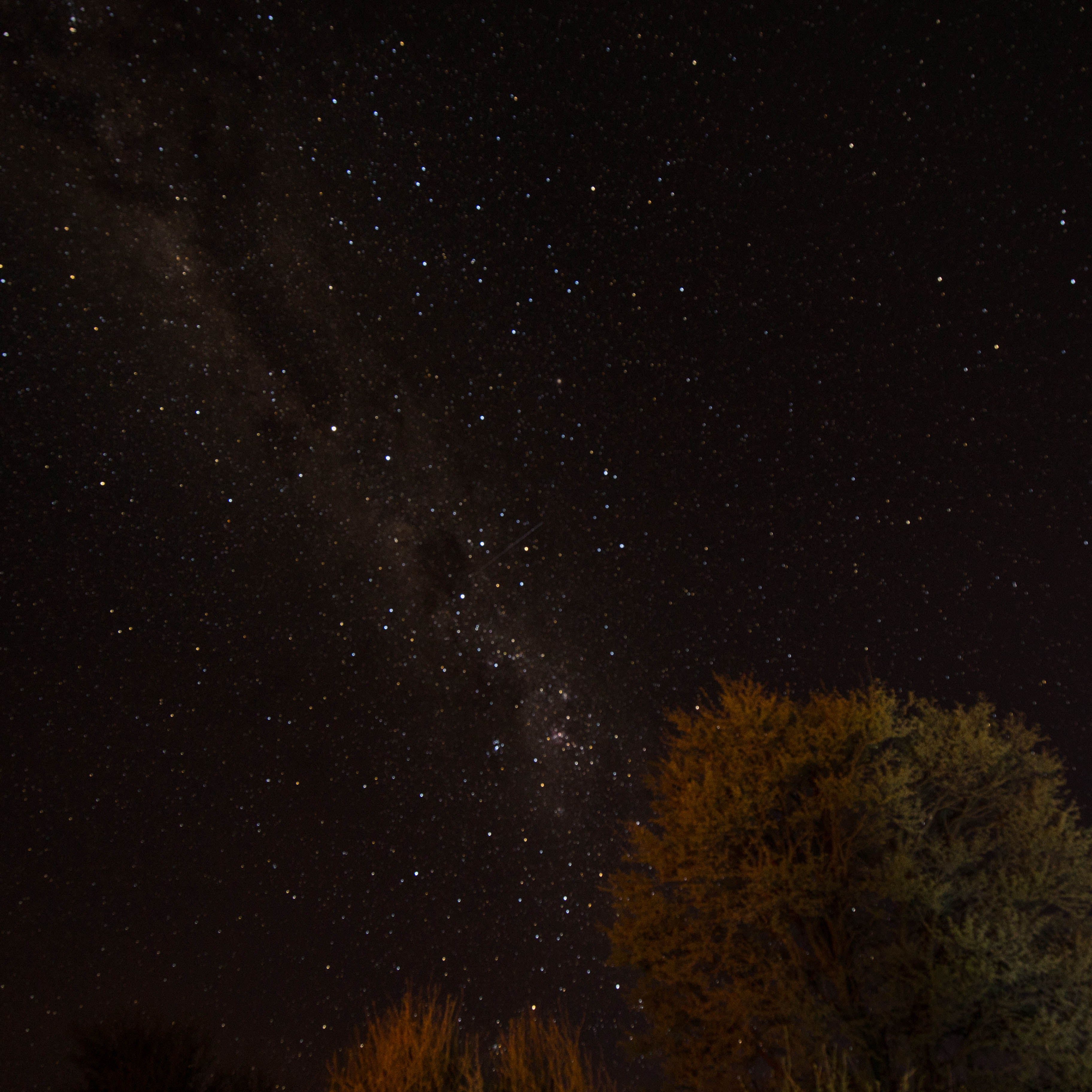 Himmel über der Kalahari