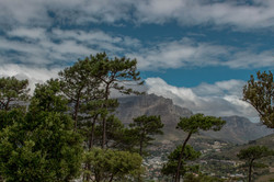 Blick auf den Tafelberg vom Signal Hill