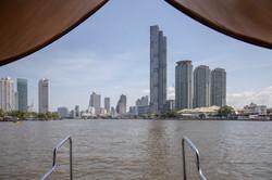 Mit dem Hotelboot unterwegs