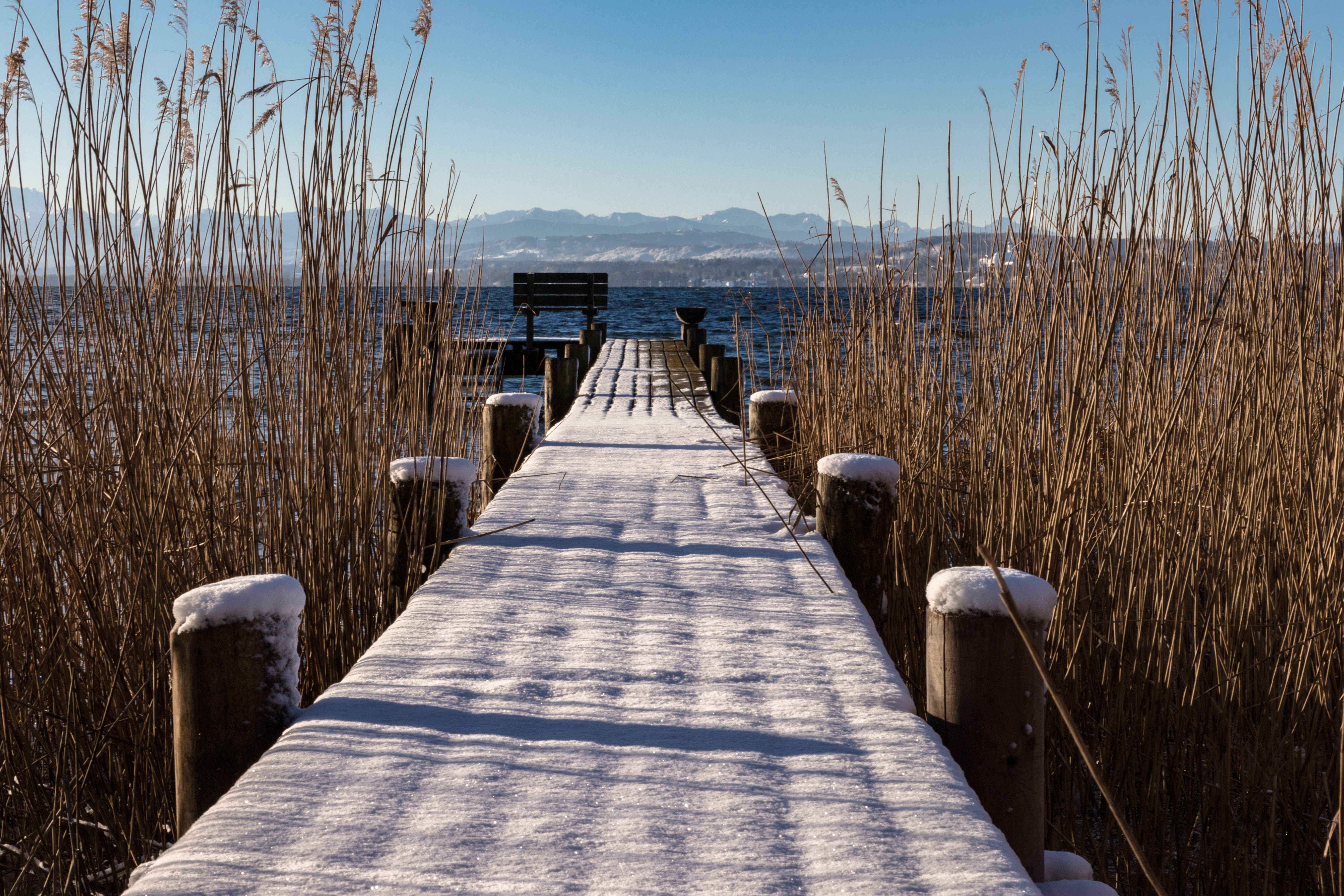 Lieblingssteg im Winter