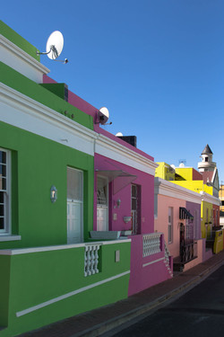 Bo-Kaap das Malayische Viertel in Kapstadt
