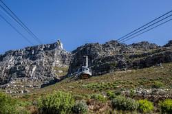 Mit der Seilbahn zum Tafelberg