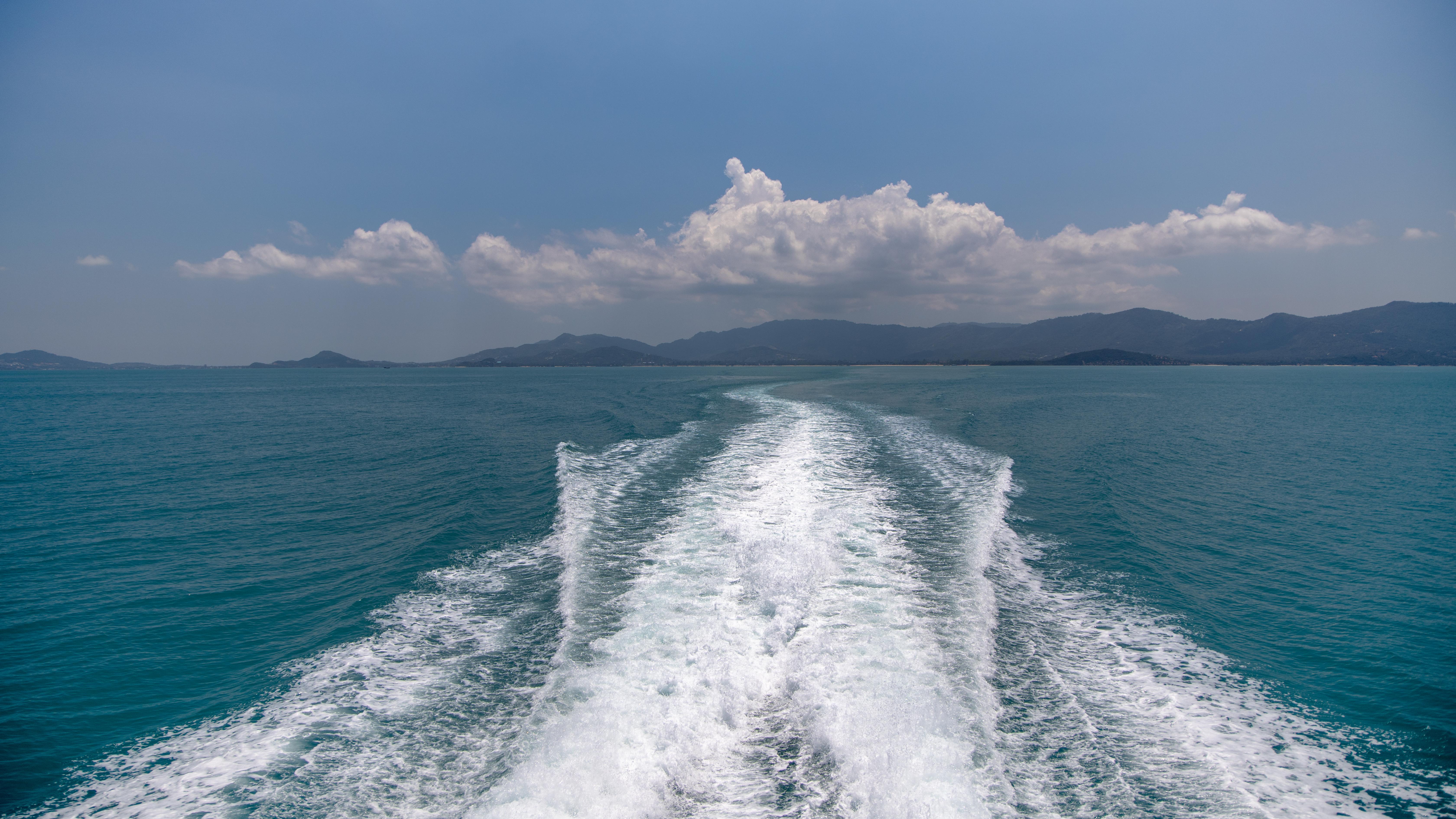 Unterwegs nach Koh Phangan