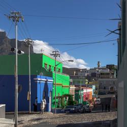 Malayenviertel Bo-Kaap in Kapstadt