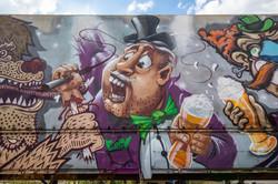 Graffiti auf Bayrisch