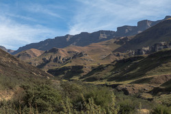 Richtung Sani-Pass