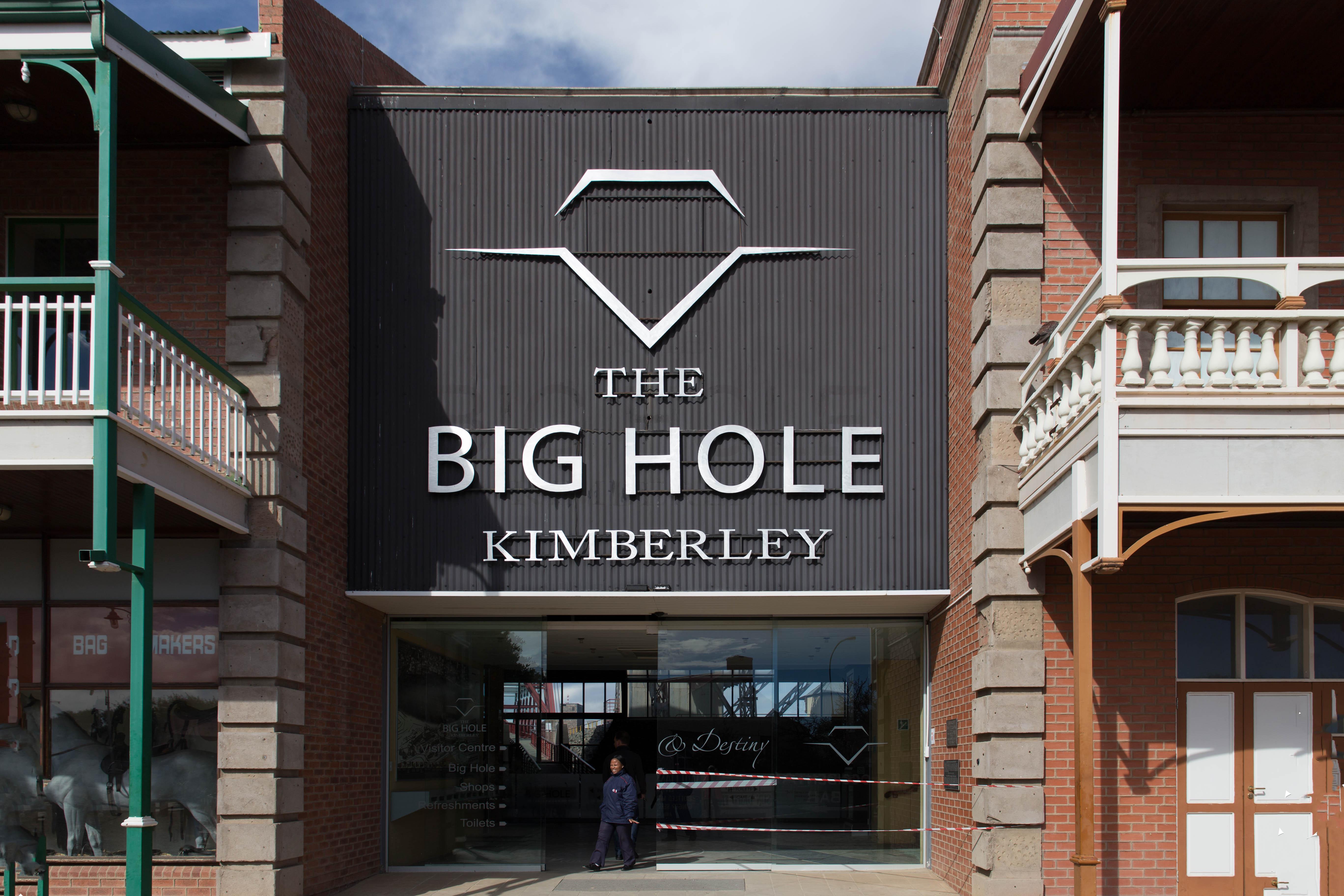 Eingang zum Big Hole
