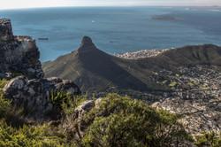Vom Tafelberg auf den Signal Hill und Kapstadt mit Robben Island