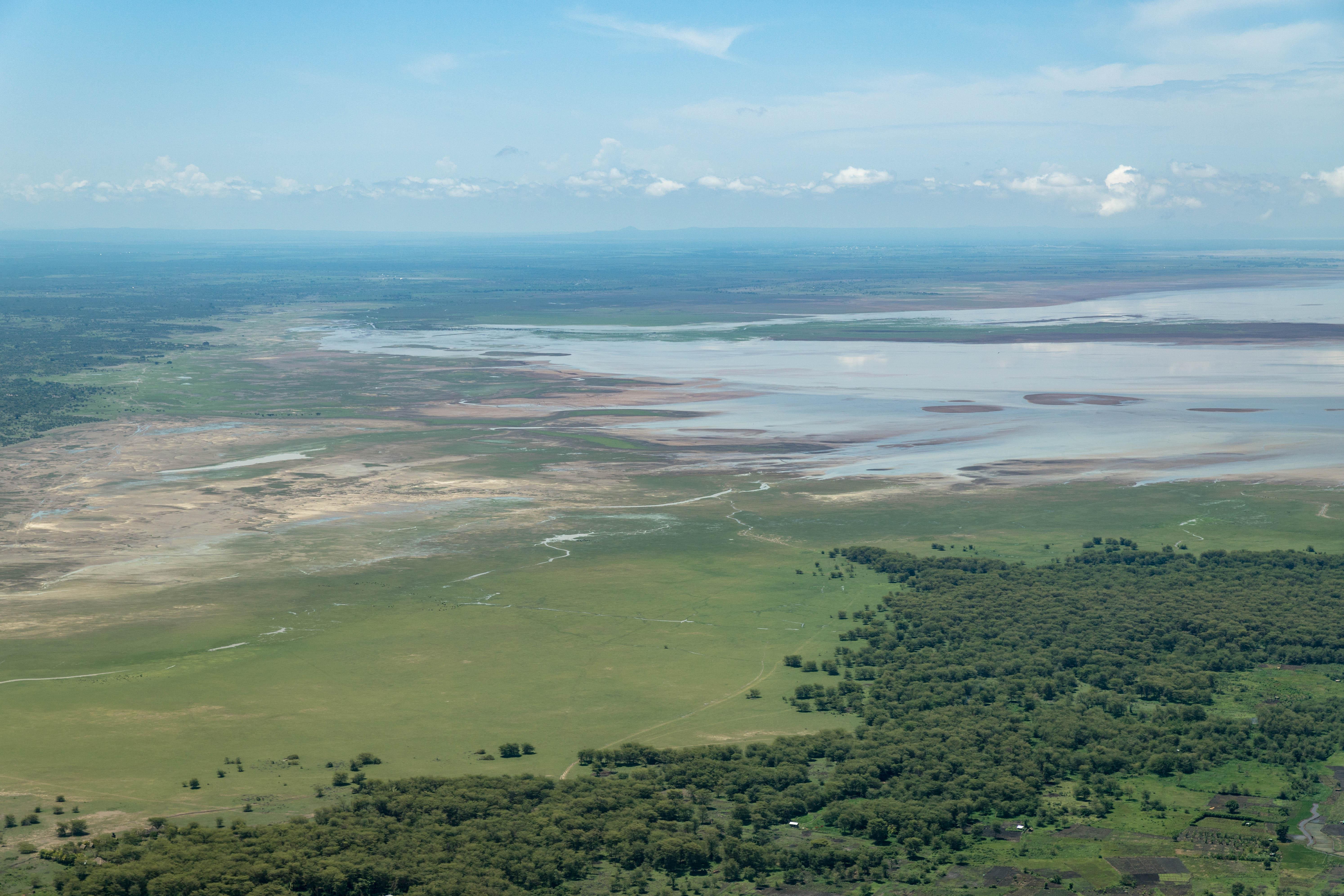 Lake Manyara - Anflug