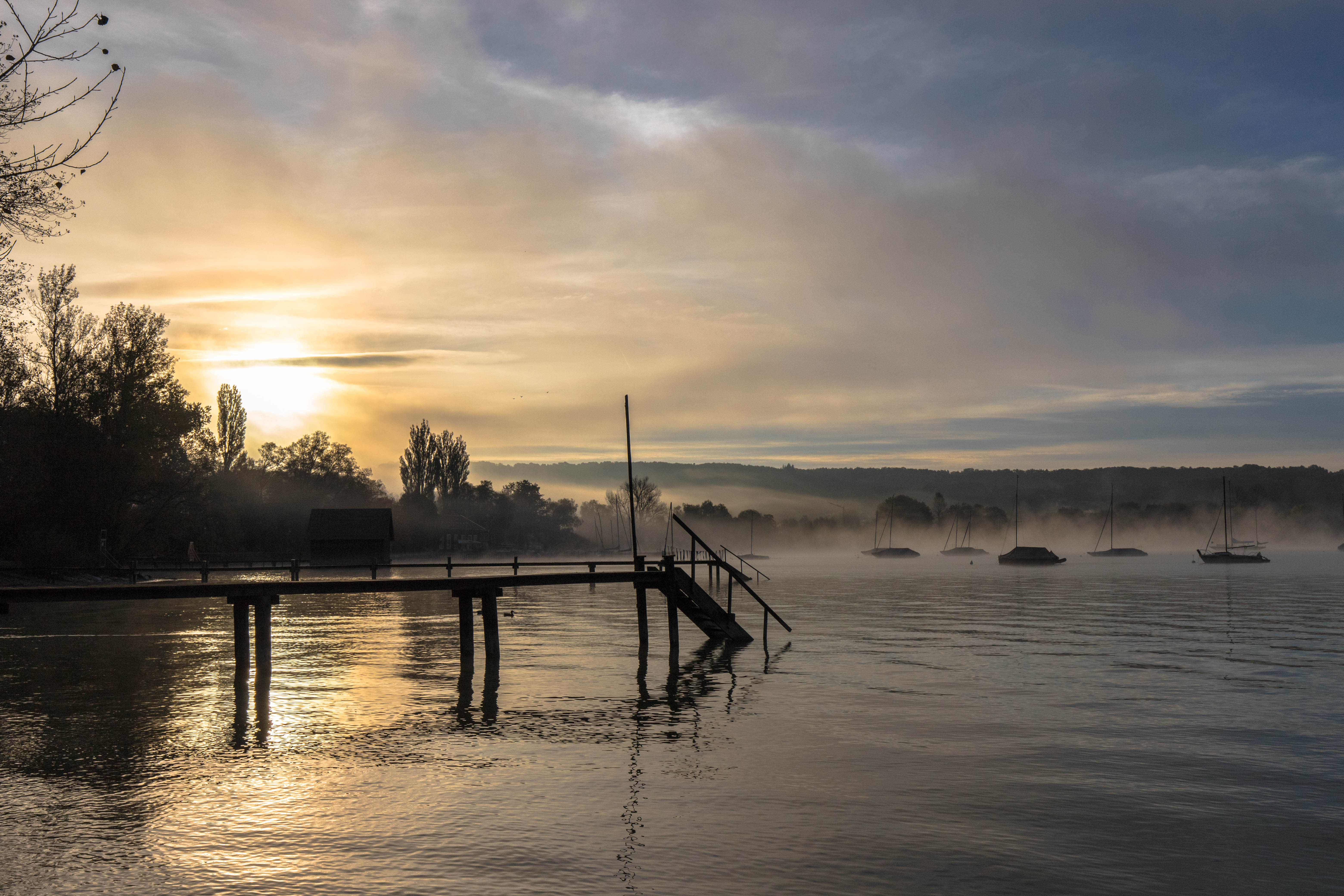 Morgens am Ammersee