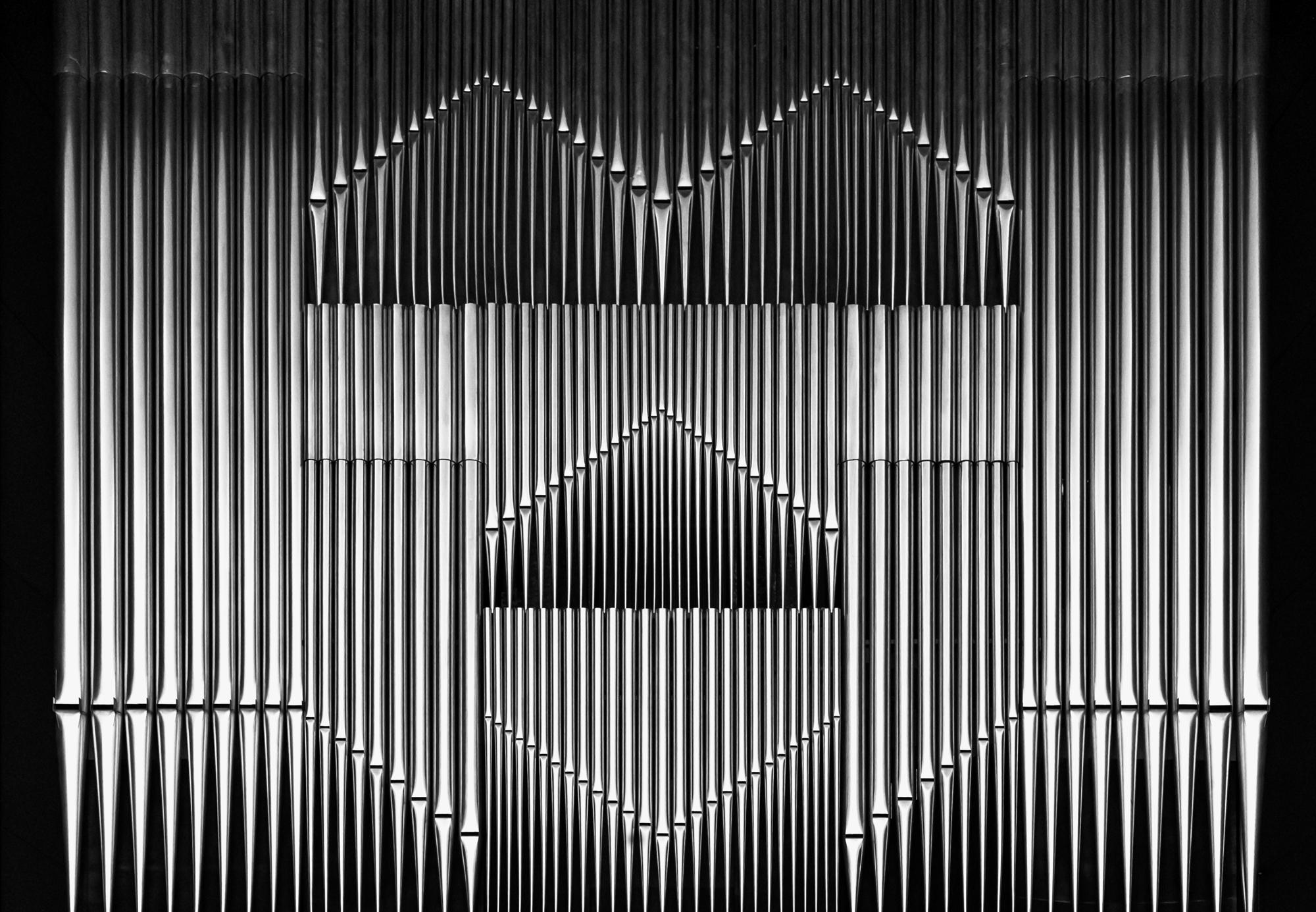 Eine Orgel mit Gesicht