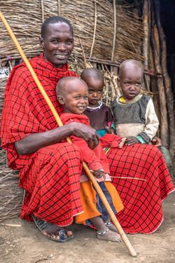 Massaivater mit Kindern