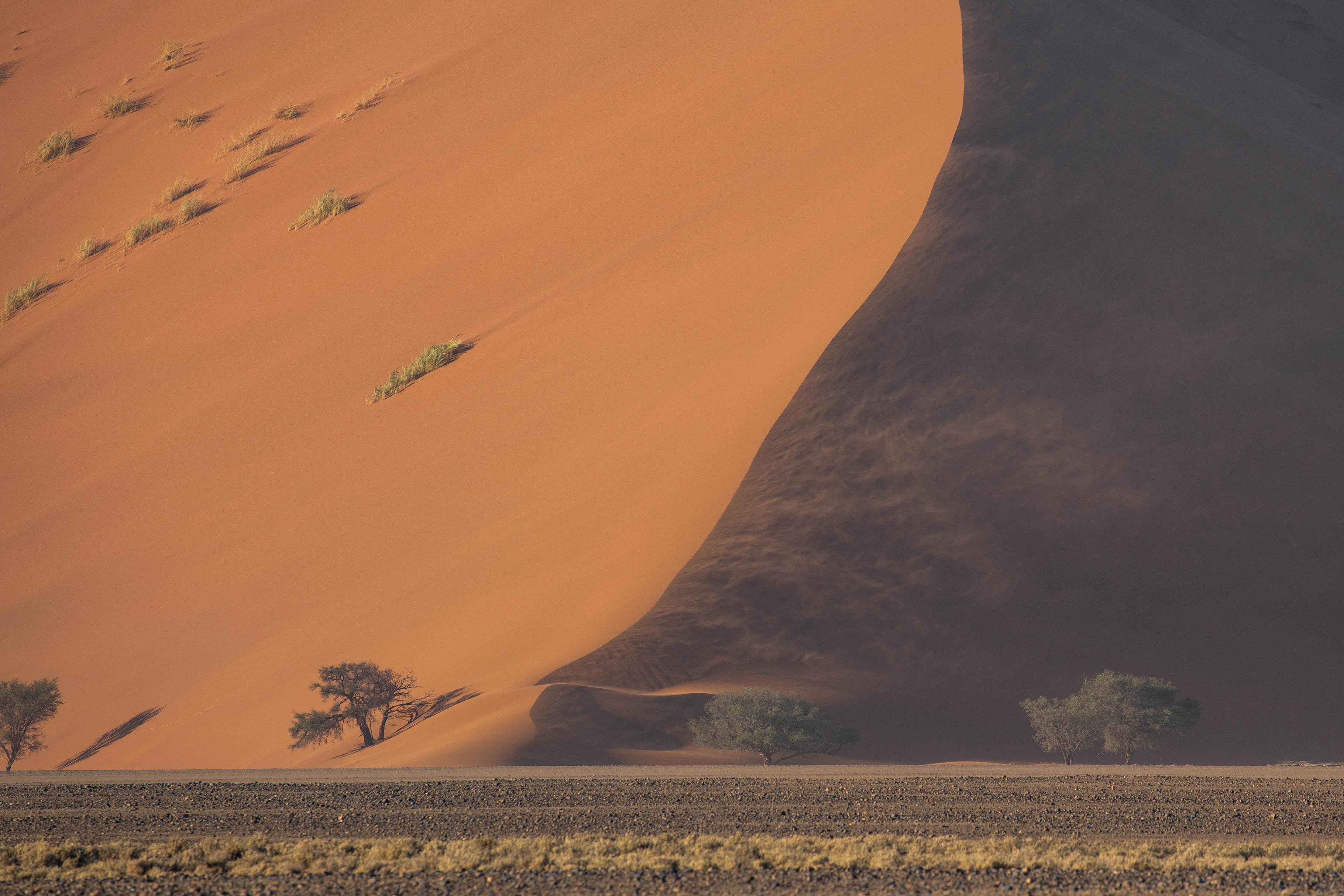 Dune 45 bei starkem Wind