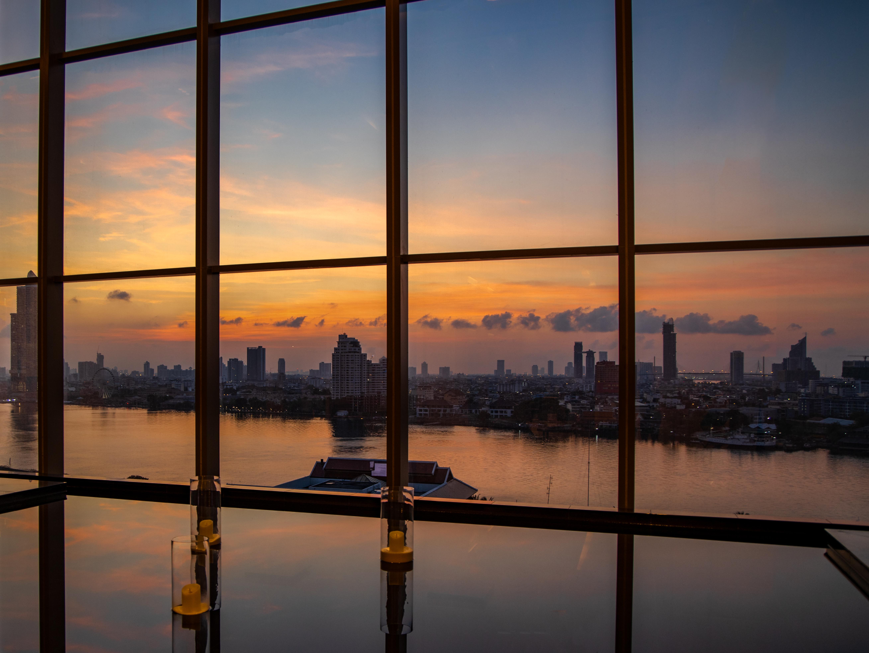 Morgens - Blick über den Chao Praya