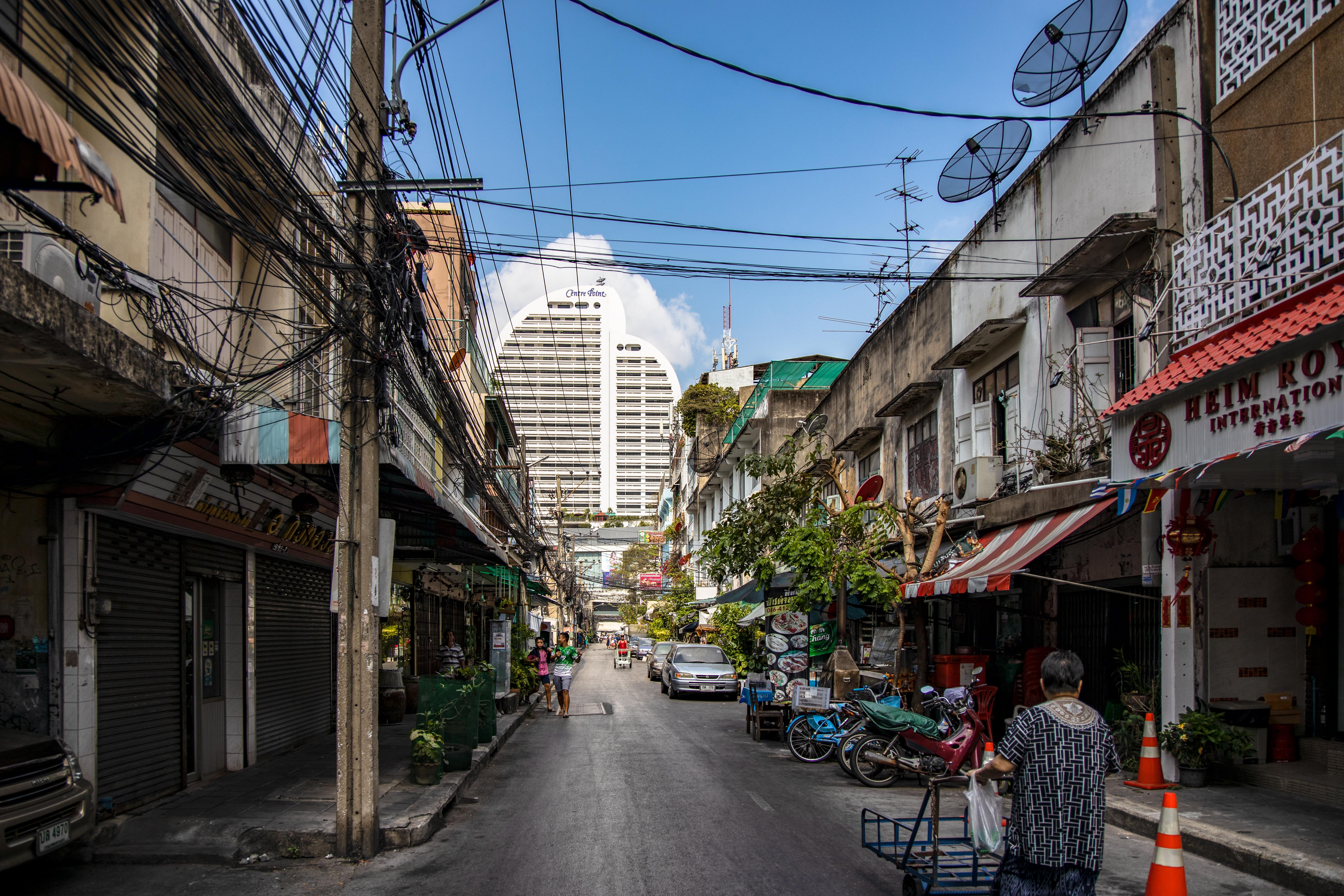 Alte und Neu in Bangkok