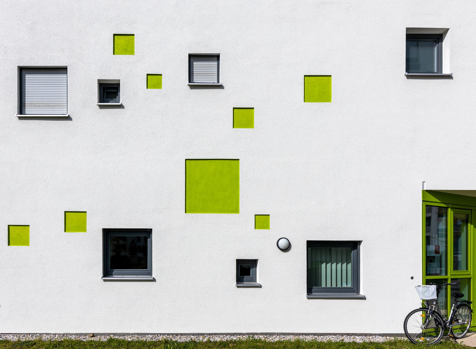 Die grünen Quadrate