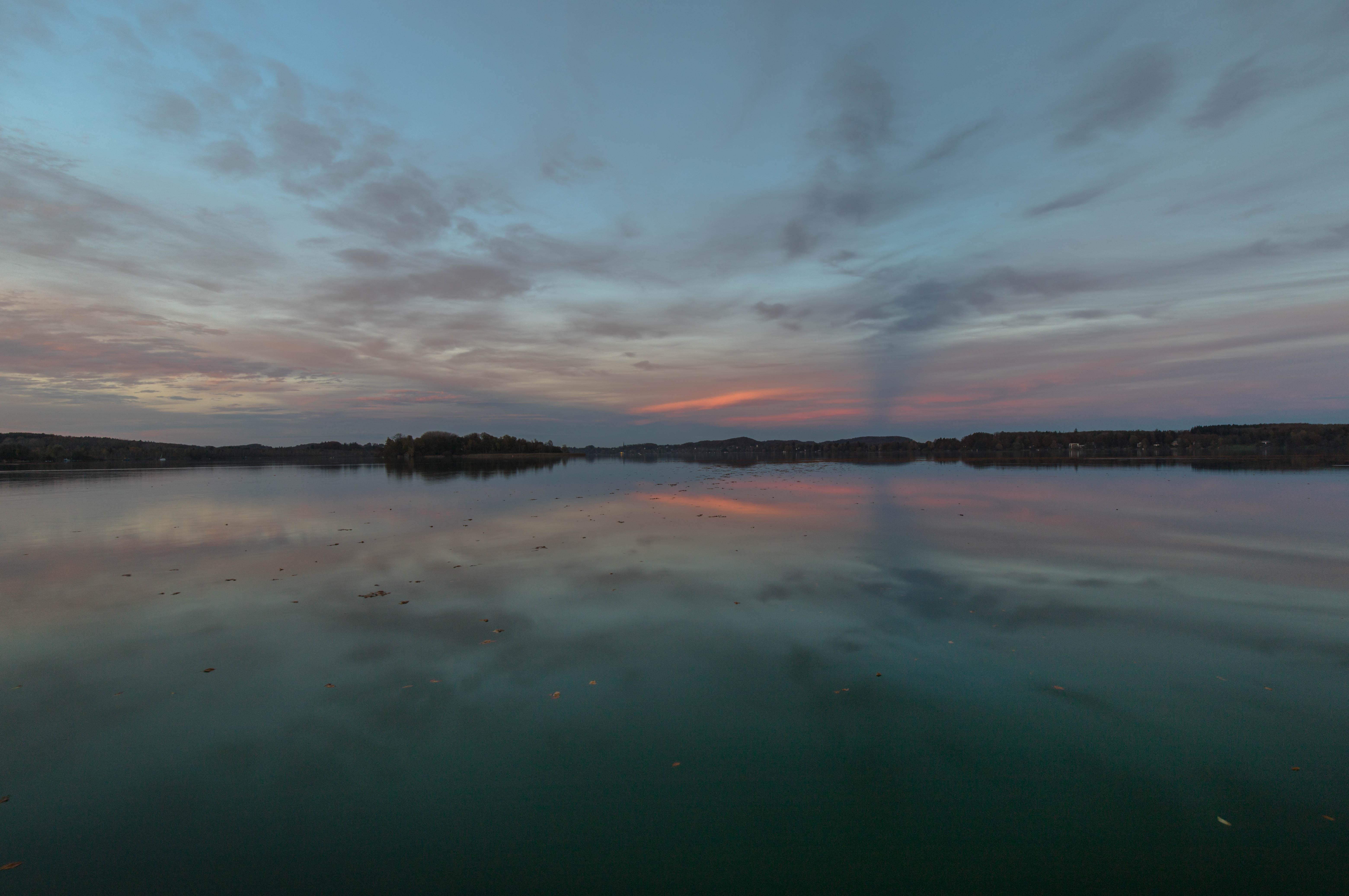 Sonnenuntergang am Wörthsee