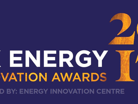 UK ENERGY INNOVATION AWARDS SHORTLIST HIGHLIGHTS INCREASED SME ENGAGEMENT WITH SECTOR