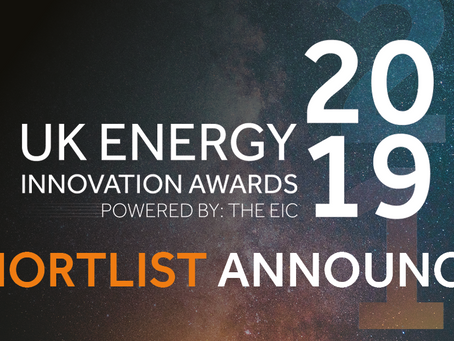 UK Energy Innovation Awards 2019 Shortlist Announced