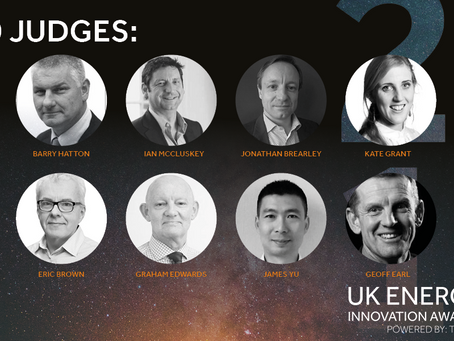 Judges Announced for the UK Energy Innovation Awards 2019