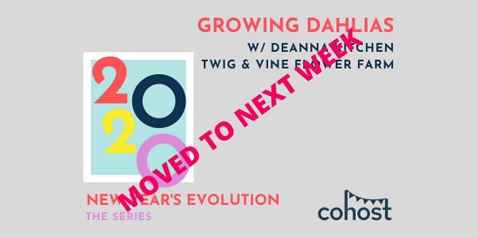 rescheduled! Growing Dahlias