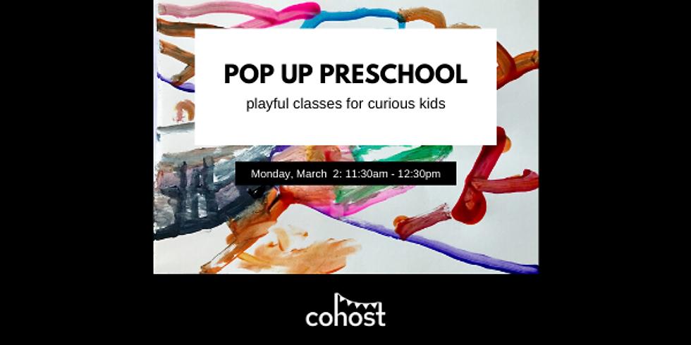 Pop Up Preschool - SOLD OUT