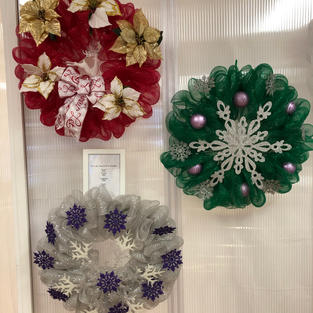 Over the Top...Or Not Wreaths