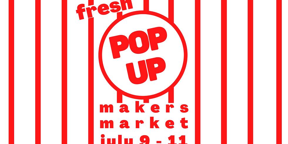 Pop Up Market! All 3 dates!