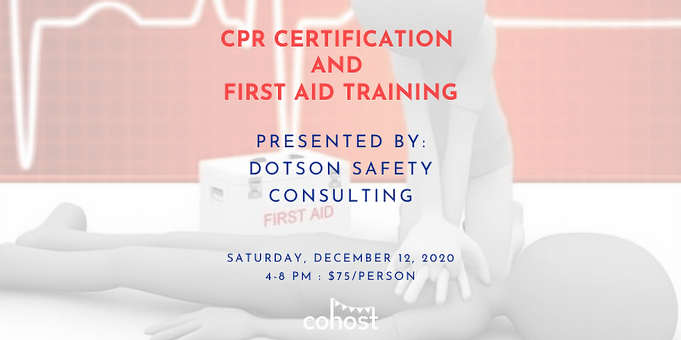 CPR Certification with Dotson Safety Consulting