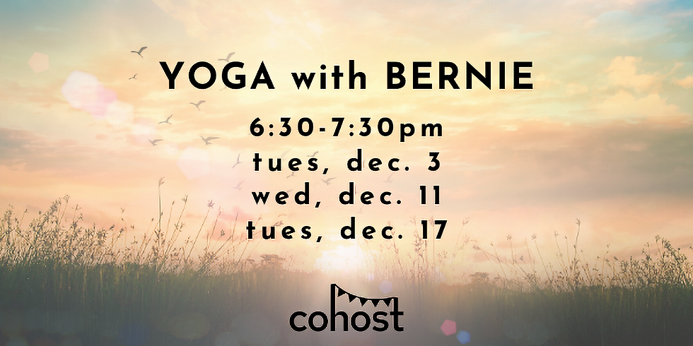 Yoga with Bernie