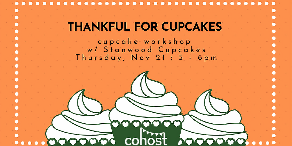 Thankful for Cupcakes