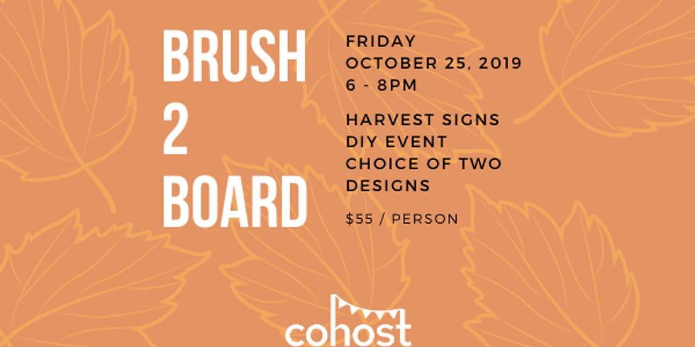 Harvest Sign Workshop