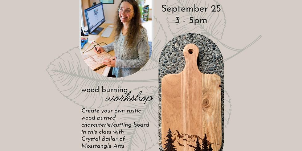 Wood Burning Workshop : Cutting Board
