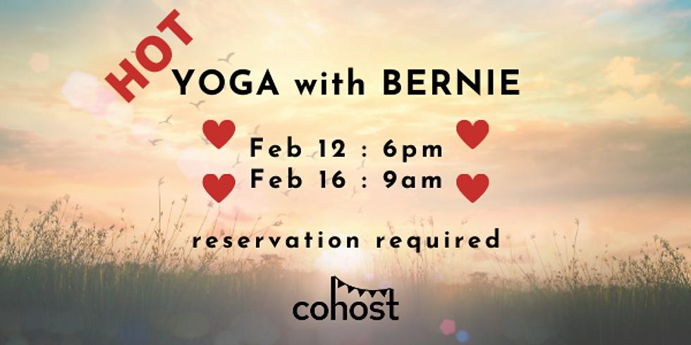 *Hot* Yoga with Bernie