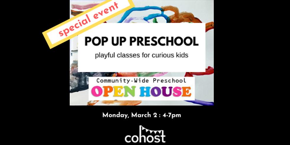 Pop Up Preschool Open House