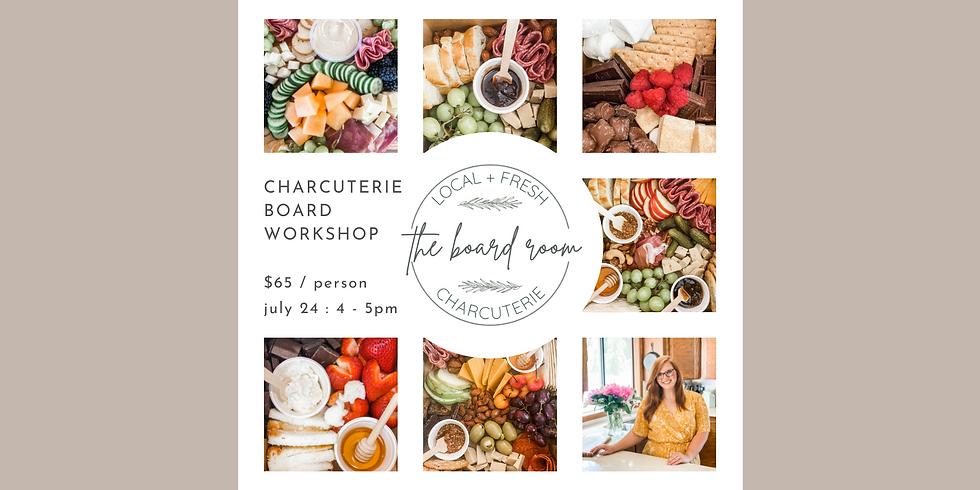 Charcuterie Board Workshop