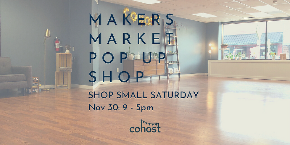 Makers Market Pop Up Shop