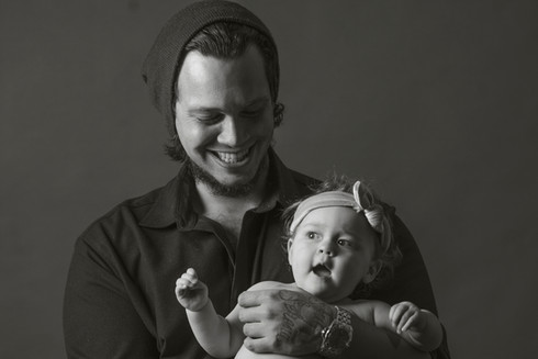 Portretfoto gezin baby Capture Life foto