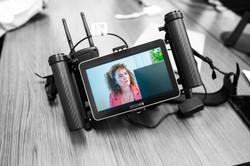 Video opnames voor E-learning Cyberfraud