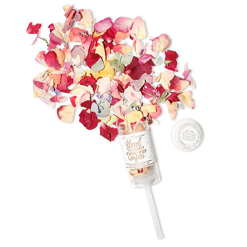 Floral Eco-friendly Push-Pop