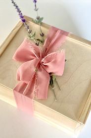 "Wooden Keepsake 6""x8"" Gift Box"