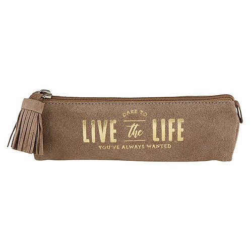 Suede Pouch - Live The Life
