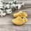 Thumbnail: Mustard Corduroy Moccasins
