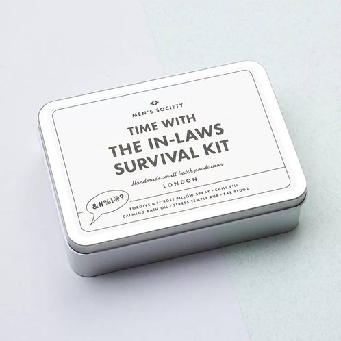 """Time With the In-Laws"" Survival Kit"