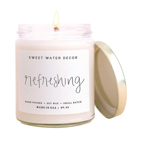 Refreshing Soy Candle